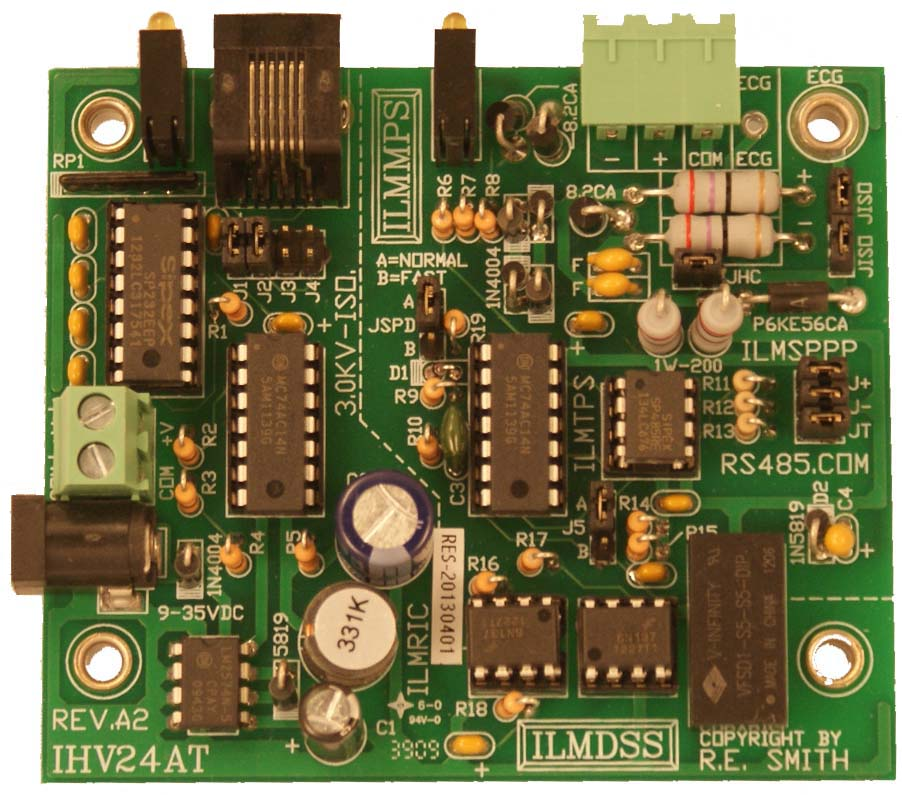 IHV24AT - RS232 to RS485 Industrial Strength Converter