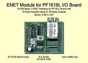 ENET Module for PF1616L I/O Board