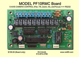 Model PF10RMC Board