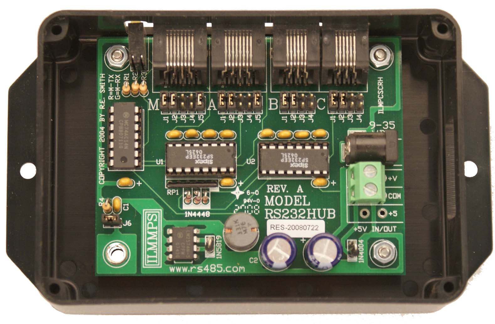 RS232HUB with Box