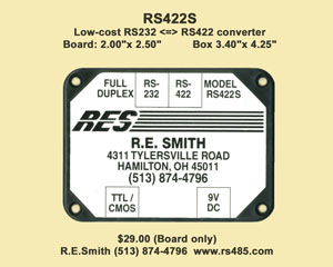 RS422S Label
